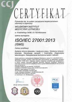 zarządzanie bezpieczeństwem informacji wojskowy instytut